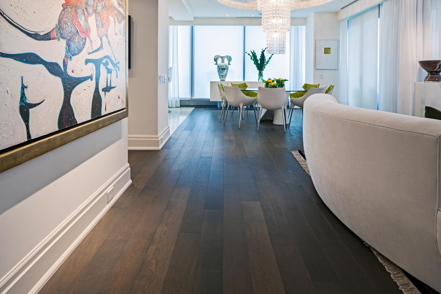 Widest Collection Of White Oak Matte Oiled Hardwood Floors