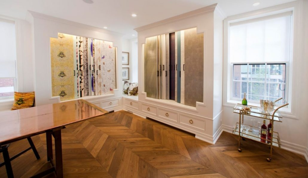 chevron hardwood flooring