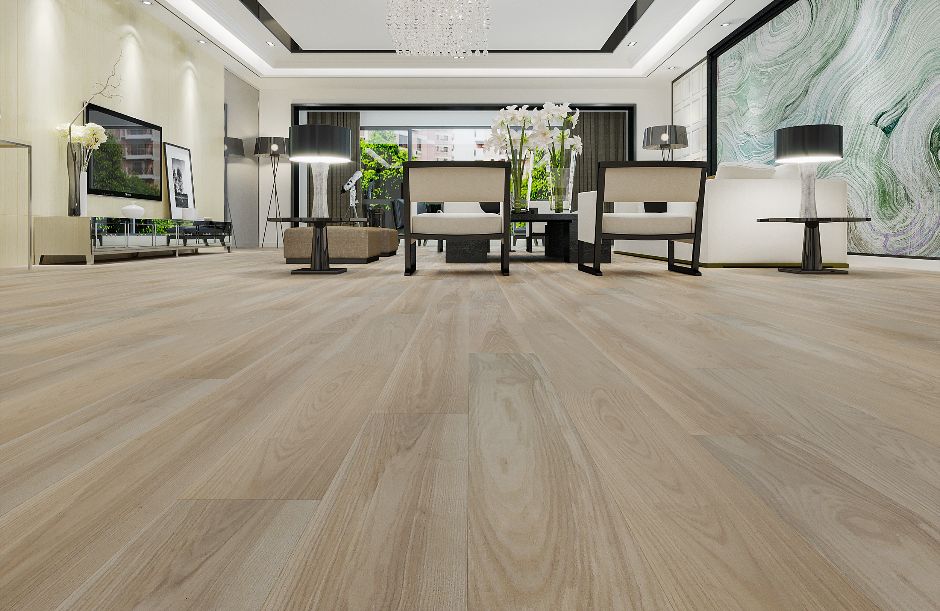 Matte Hardwood Floors