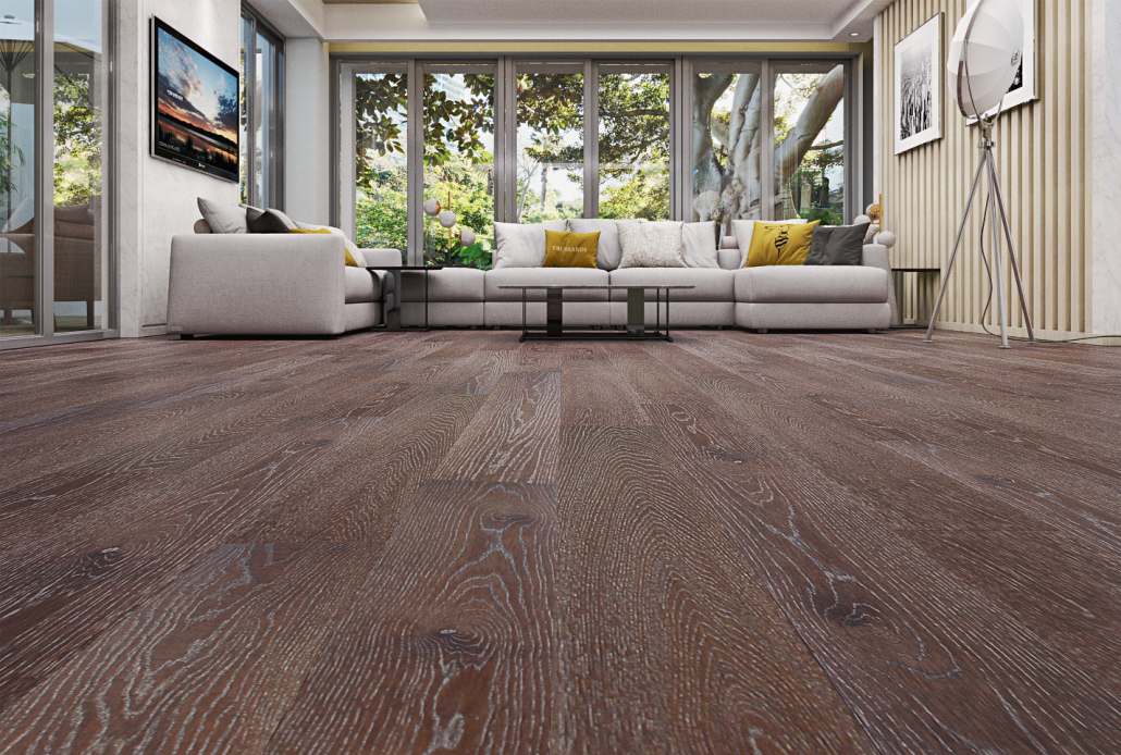 Matte Hardwood Floors