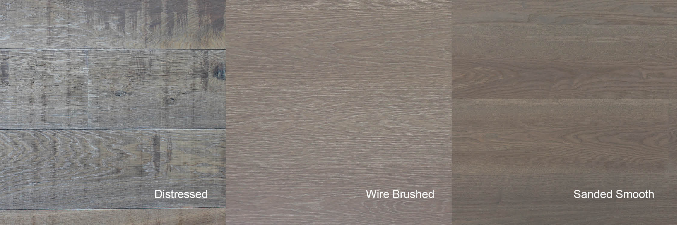 popular textures for white oak hardwood flooring