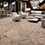 European style curated flooring