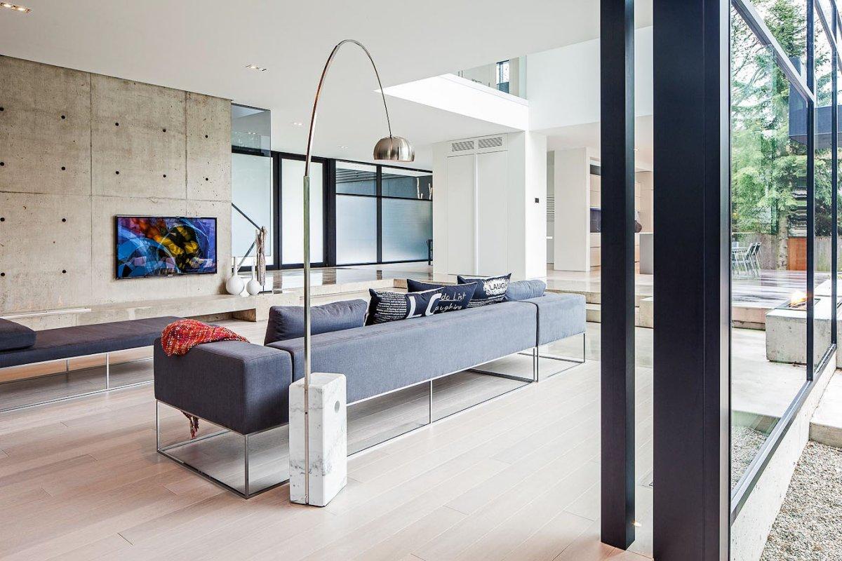 light-colored hardwood floor